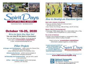 Rochester Spirit Days