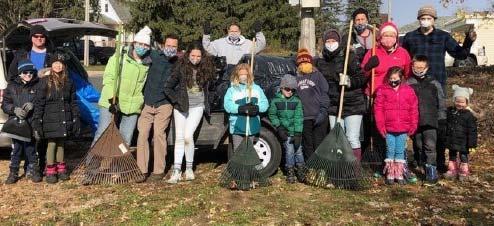 Spirit Days 2020 Leaf Cleaning Crew